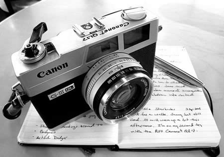 camera and writers