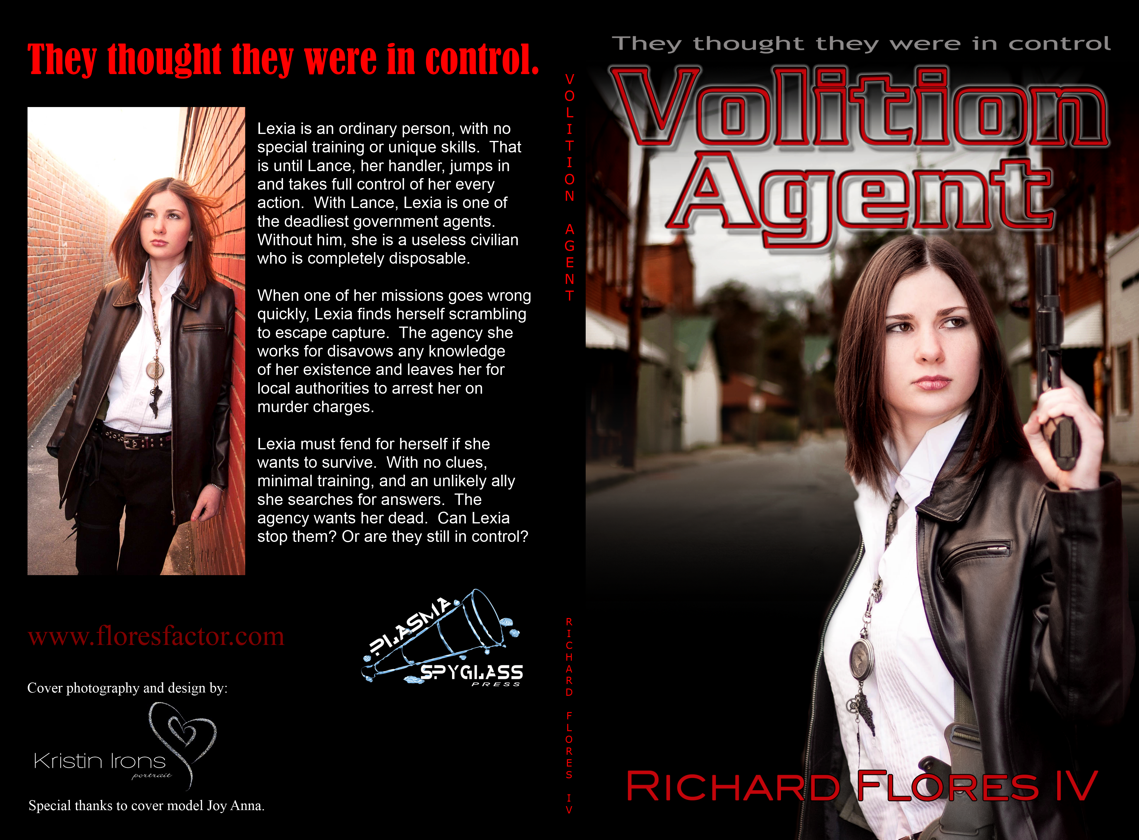 Volition Agent Book Spread